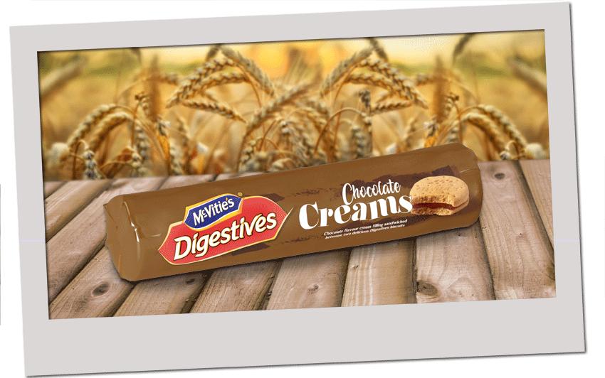 McVitie's Digestive Creams Chocolate 168g