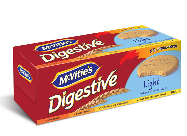 McVitie's Digestive Light 400g