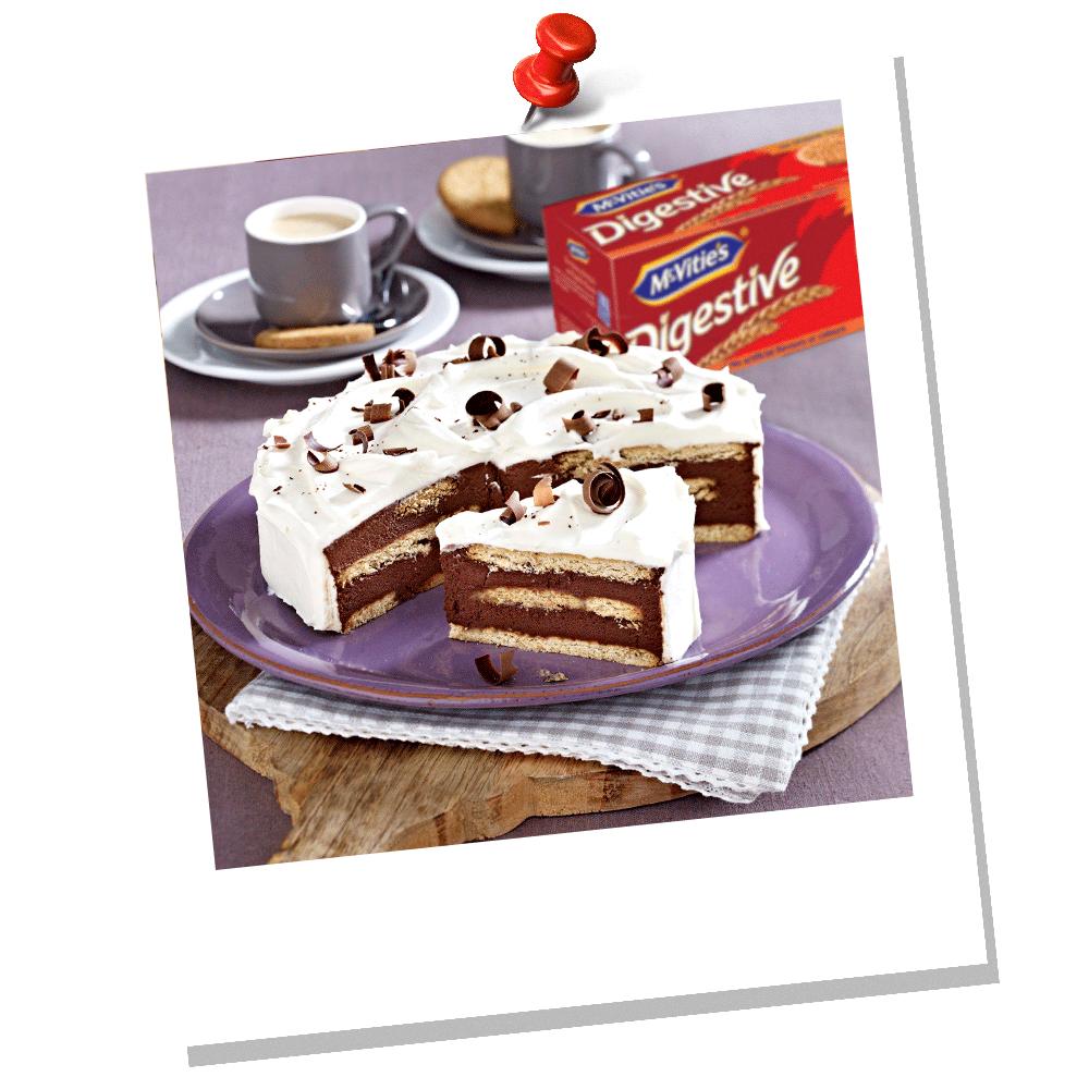 Τάρτα σοκολάτας με μπισκότα McVitie's