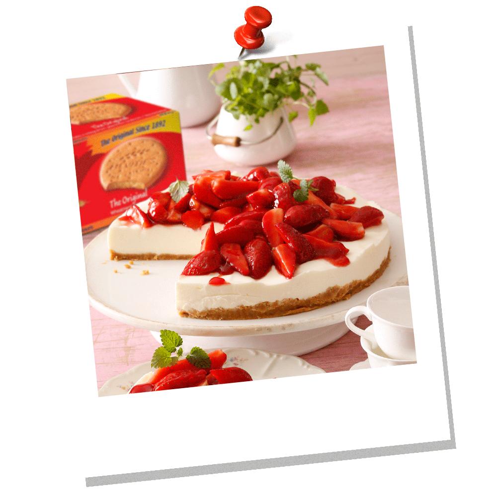 Γλυκό McVitie's με Γιαούρτι και Φράουλες