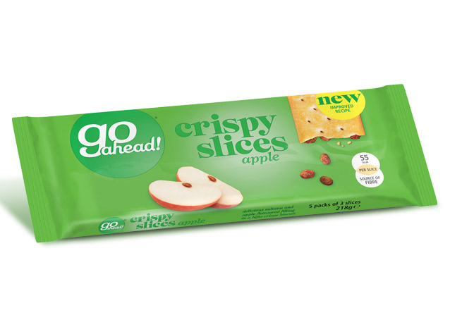 GoAhead Crispy Slices Apple & Sultana 5x43,6g