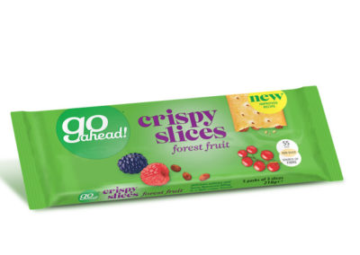 GoAhead Crispy Slices Forest Fruit 5×43,6g