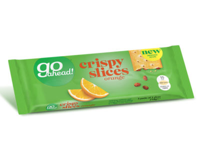GoAhead Crispy Slices Orange & Sultana 5×43,6g