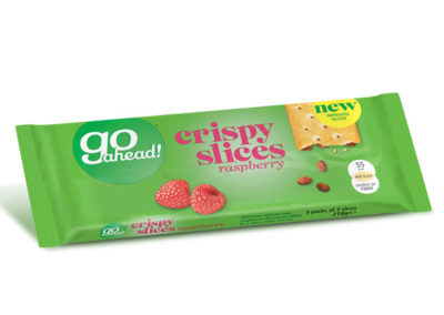 GoAhead Crispy Slices Raspberry 5×43,6g