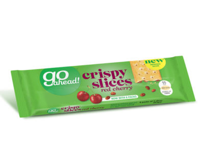 GoAhead Crispy Slices Red Cherry 5×43,6g