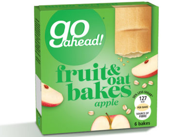 GoAhead Fruit&Oat Bakes Apple 6x35g