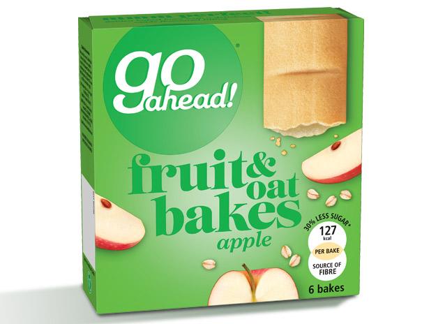 GoAhead Fruity Bakes Apple 6x35g