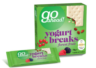 GoAhead Yogurt Breaks Forest Fruit 5×35,5g