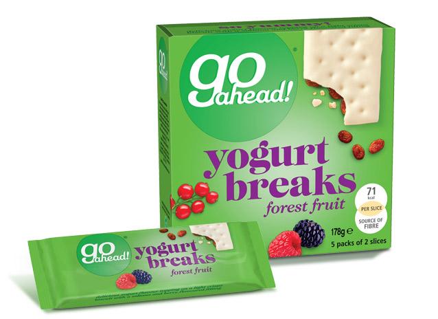 GoAhead Yogurt Breaks Forest Fruit 5x35,5g