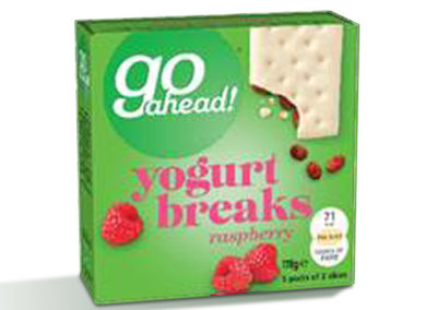 GoAhead Yogurt Breaks Raspberry 5×35,5g