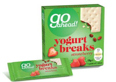 GoAhead Yogurt Breaks Strawberry 5×35,5g