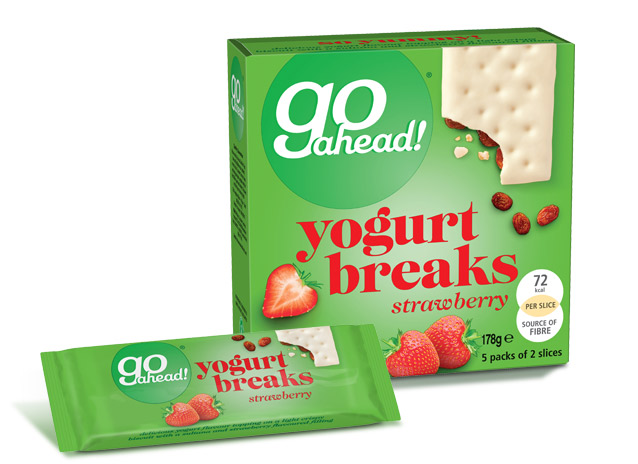 GoAhead Yogurt Breaks Strawberry 5x35,5g