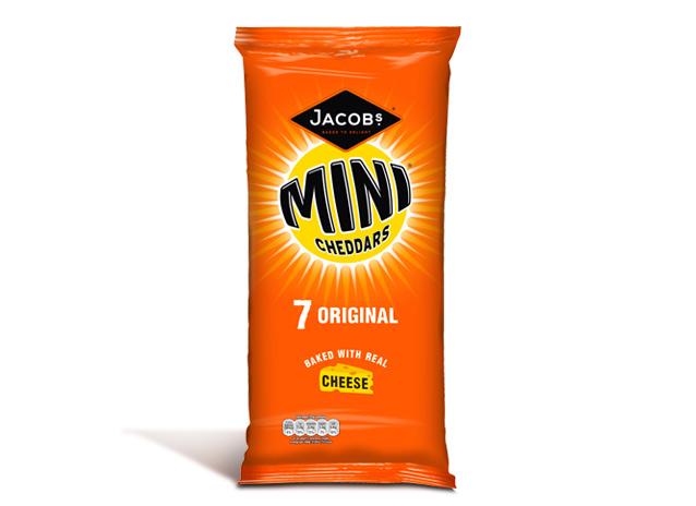 Mini Cheddars Original 7x25g