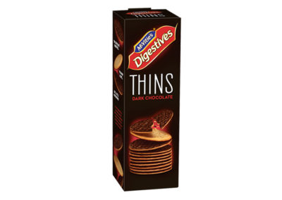 McVitie's Digestive Thins Dark Chocolate 180g