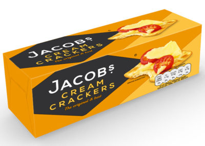 Jacob's Cream Crackers 200g