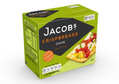 Jacob's Crispbreads Chive 190g