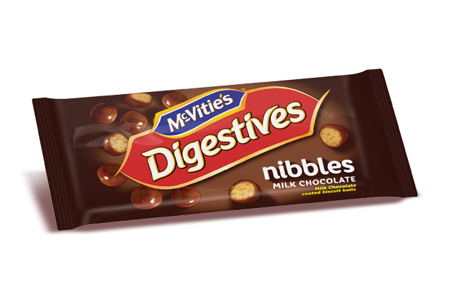 McVitie's Digestive Nibbles Milk Chocolate 37g