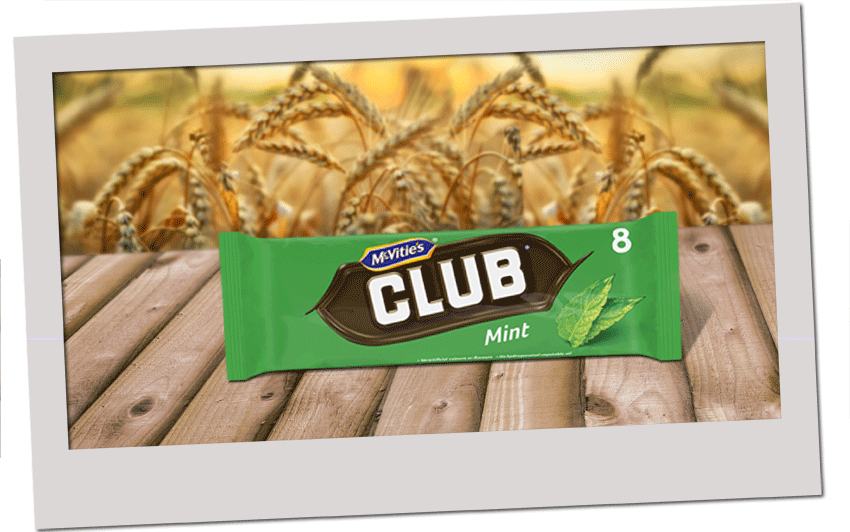 McVitie's Club Mint 176g