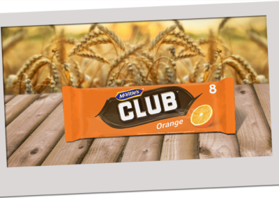 McVitie's Club Orange 176g
