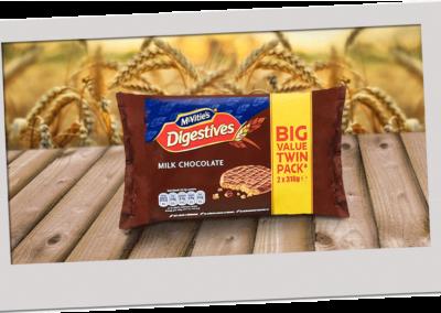 McVitie's Digestive Milk Chocolate 2X316g