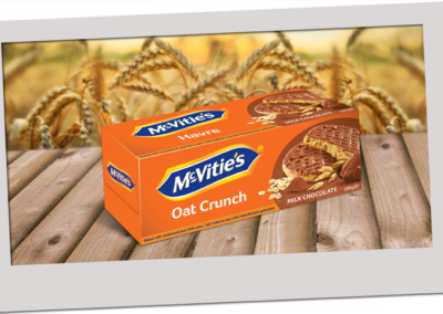 McVitie's Oat Crunch Milk Chocolate 300g