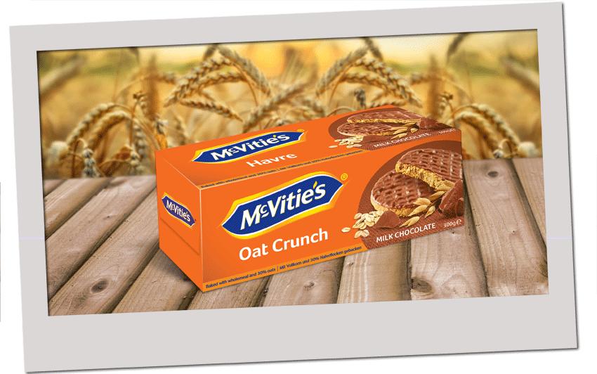 McVitie's Oat Crunch Milk Chocolate 300g