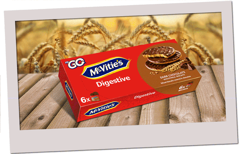 McVitie's Digestive ToGo Dark Chocolate 6x33,3g