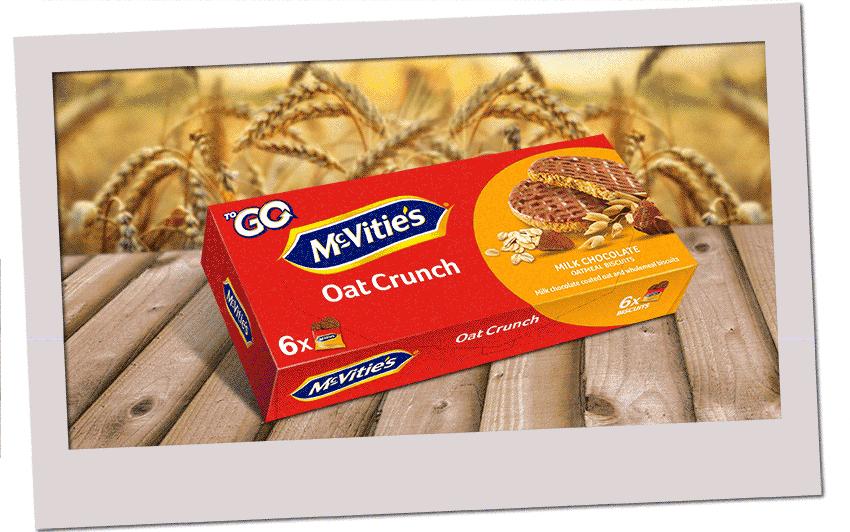 McVitie's OatCrunch ToGo 6x37,5g