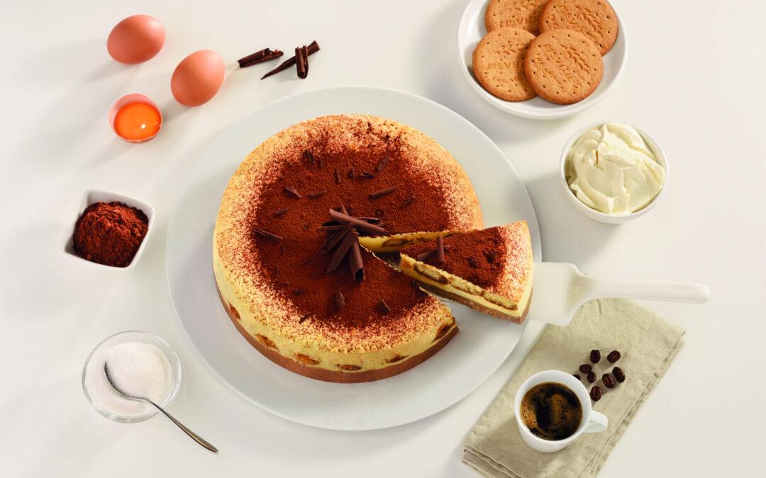 Τσίζκεϊκ (cheesecake) τιραμισού